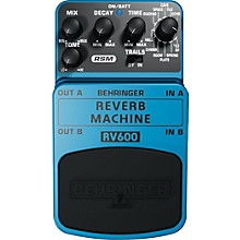 Behringer RV600 Reverb Machine Modeling Effects Pedal