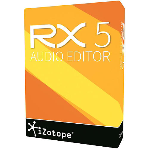iZotope RX 5 Audio Editor Software Download