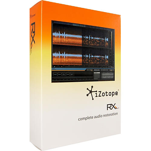iZotope RX Complete Audio Restoration 1.3 Software-thumbnail