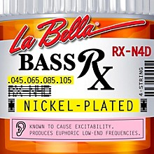 LaBella RX-N4D RX Nickel 4-String Electric Bass Strings