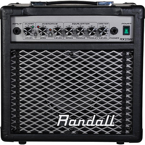Randall RX Series RX15M 15W 1x6.5 Guitar Combo Amp
