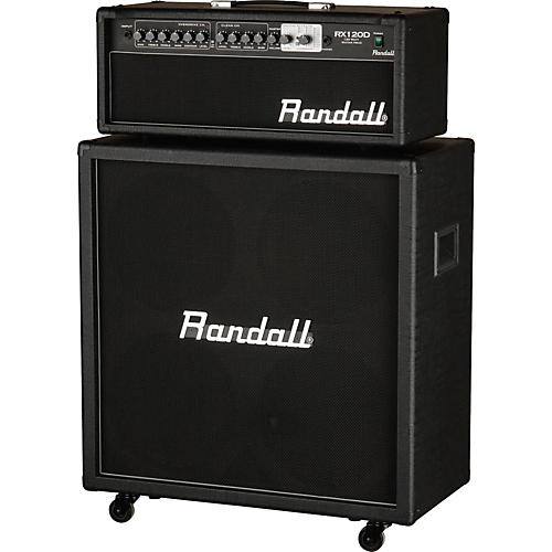 Randall RX120DHS 120W Half Stack Guitar Amp with 4x12 Cabinet