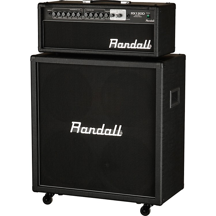 RandallRX120DHS 120W Half Stack Guitar Amp with 4x12 Cabinet