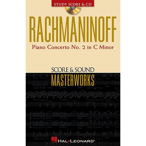 Hal Leonard Rachmaninoff - Piano Concerto No. 2 in C Minor Study Score with CD by Sergei Rachmaninoff-thumbnail