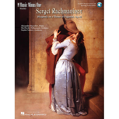 Music Minus One Rachmaninov - Rhapsody on a Theme of Paganini Music Minus One Series Softcover Audio Online