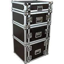 Musician's Gear Rack Flight Case 2 Space Black