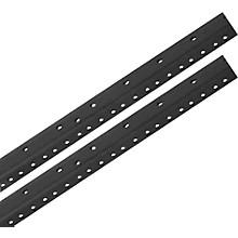 Raxxess Rack Rails (Pair) Black 4 Space