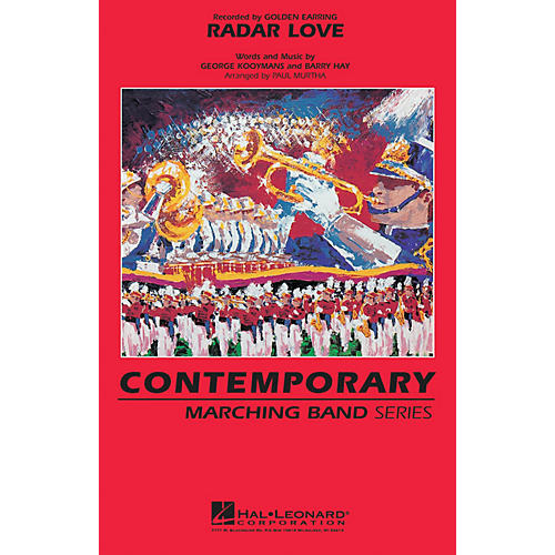 Hal Leonard Radar Love Marching Band Level 3 by Golden Earring Arranged by Paul Murtha-thumbnail