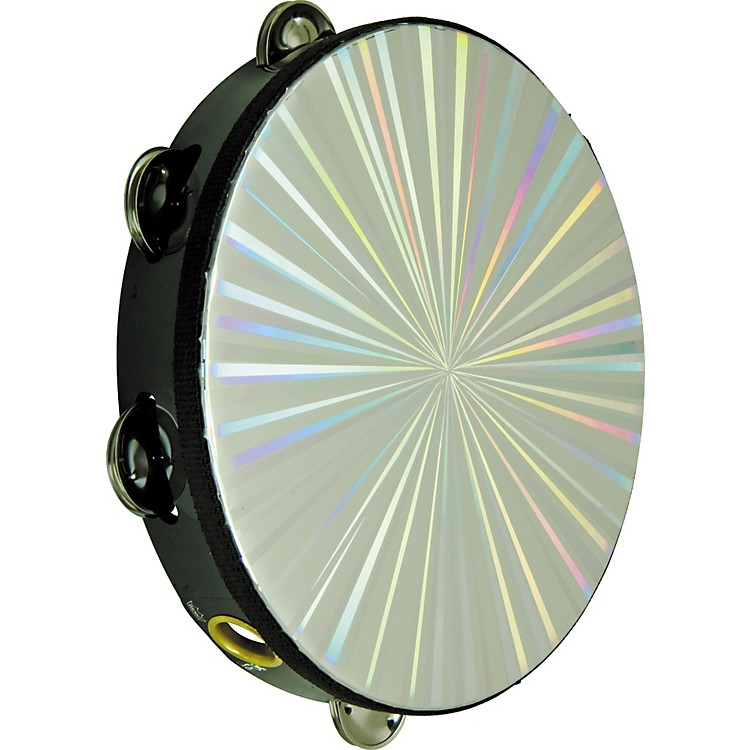 Rhythm Band Radiant Series Tambourine 10 In 8 Jingles