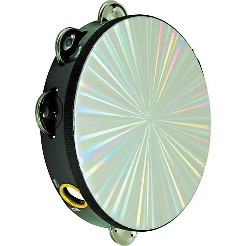 Remo Radiant Series Tambourine 10 in., 16 Jingles