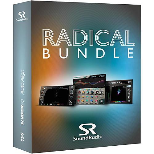 Sound Radix Radical Bundle (Auto-Align, Pi, & Surfer EQ)