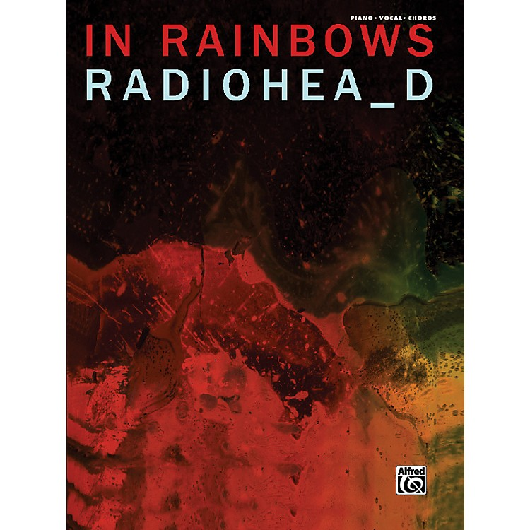 Alfred Radiohead In Rainbows Piano Vocal Guitar Book
