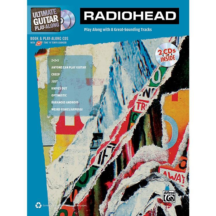 AlfredRadiohead Ultimate Play-Along Guitar TAB Book & 2 CDs