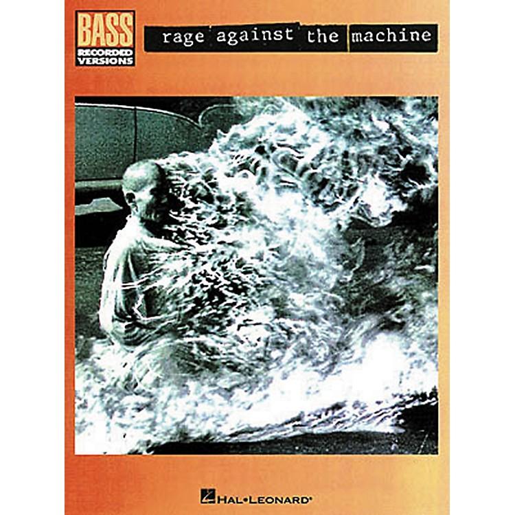 Hal LeonardRage Against the Machine Bass Guitar Tab Songbook