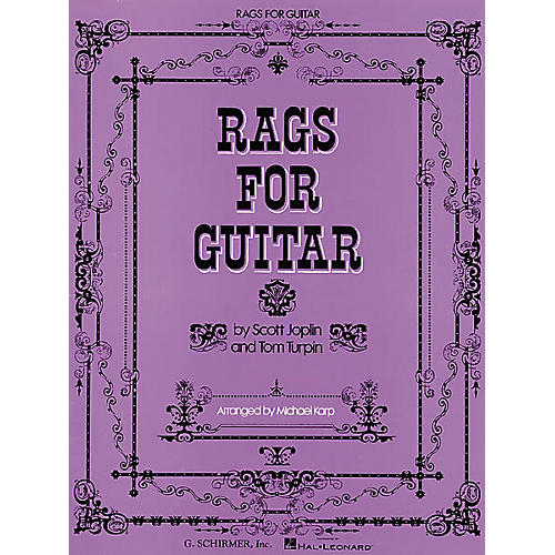 G. Schirmer Rags for Guitar Tab Songbook