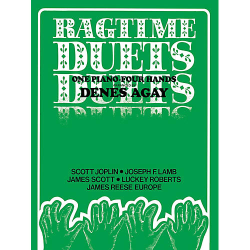 Edward B. Marks Music Company Ragtime Duets (Arr. Agay) Duet Piano Education Series