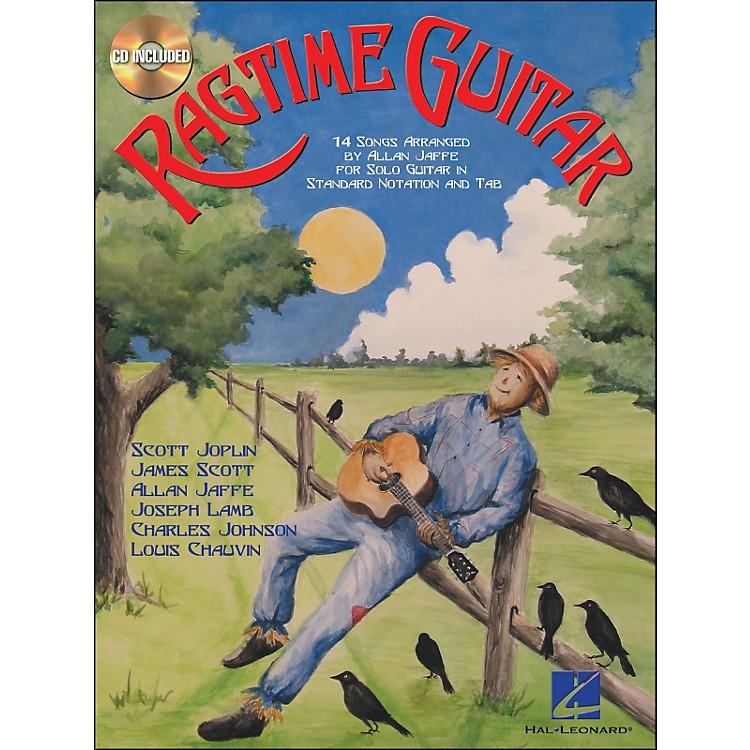 Hal LeonardRagtime Guitar Book/CD for Solo Guitar In Standard Notation & Tab