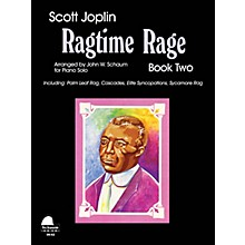 SCHAUM Ragtime Rage, Bk 2 Educational Piano Series Softcover