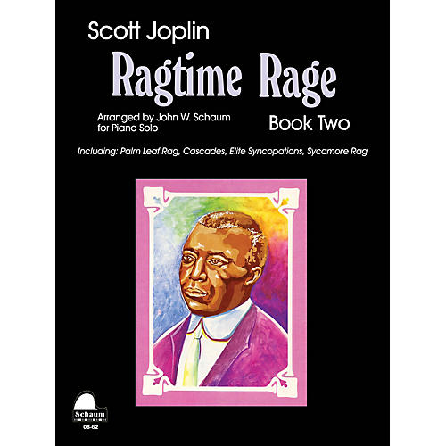 SCHAUM Ragtime Rage, Bk 2 Educational Piano Series Softcover-thumbnail
