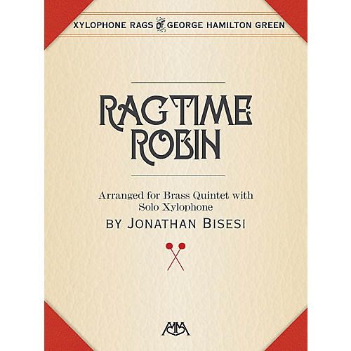 Meredith Music Ragtime Robin Meredith Music Percussion Series Book  by George Hamilton Green-thumbnail