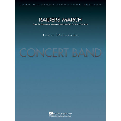 Hal Leonard Raiders March - Deluxe Score Concert Band Level 5 Arranged by Paul Lavender