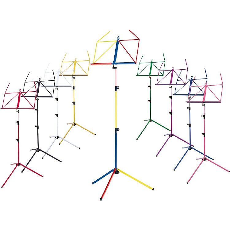 K&M Rainbow Music Stand Black