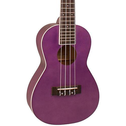 Kohala Rainbow Series Concert Ukulele Petal Purple