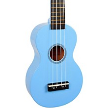 Mahalo Rainbow Series MR1 Soprano Ukulele Light Blue