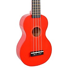 Mahalo Rainbow Series MR1 Soprano Ukulele Red