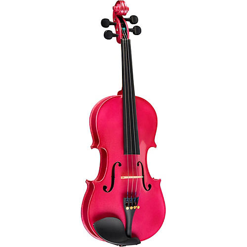 Bellafina Rainbow Series Rose Violin Outfit 1/2 Size ...