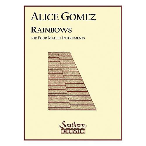 Hal Leonard Rainbows (Percussion Music/Mallet/marimba/vibra) Southern Music Series Composed by Gomez, Alice-thumbnail