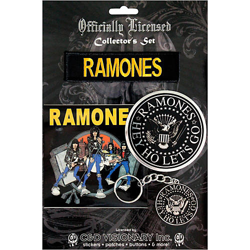Ramones Collectors Postcard Record