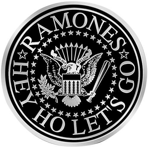 C&D Visionary Ramones Logo Heavy Metal Sticker