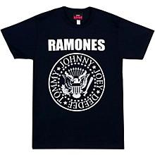 The Ramones Ramones Presidential Seal Men's Tee Black Large