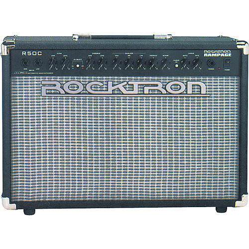 Rocktron Rampage R50C 50W 2x8 Stereo Chorus Amp with Reverb