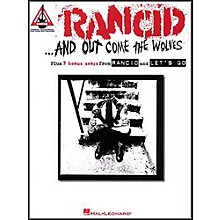Hal Leonard Rancid And Out Come the Wolves Guitar Tab Songbook