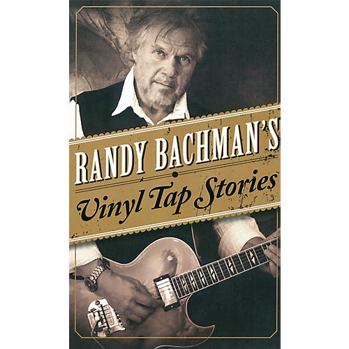 Penguin Books Randy Bachman's Vinyl Tap Stories Book