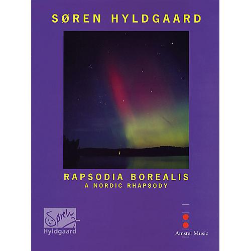 De Haske Music Rapsodia Borealis (for Trombone & Wind Orchestra) (Study Score) Concert Band Composed by Soren Hyldgaard-thumbnail