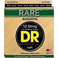 DR Strings Rare Phosphor Bronze Lite 12-String Acoustic Guitar Strings  Thumbnail