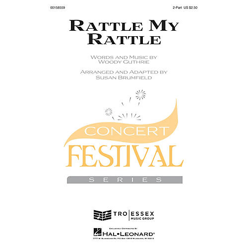 Hal Leonard Rattle My Rattle 2-Part arranged by Susan Brumfield-thumbnail