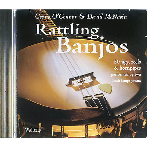 Waltons Rattling Banjos Waltons Irish Music Books Series CD-thumbnail