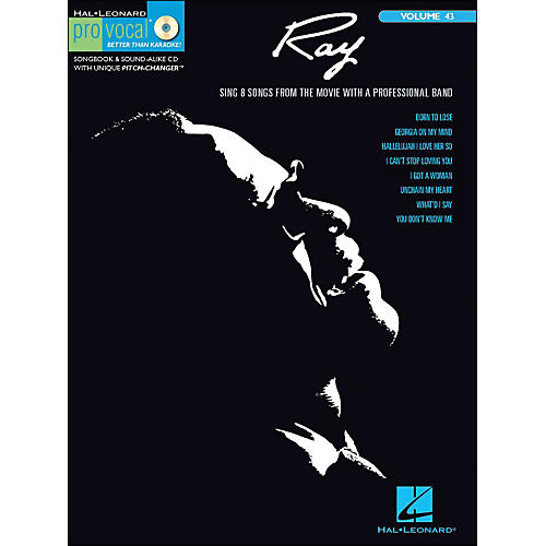 Hal Leonard Ray - Pro Vocal Songbook & CD for Male Singers Volume 43-thumbnail
