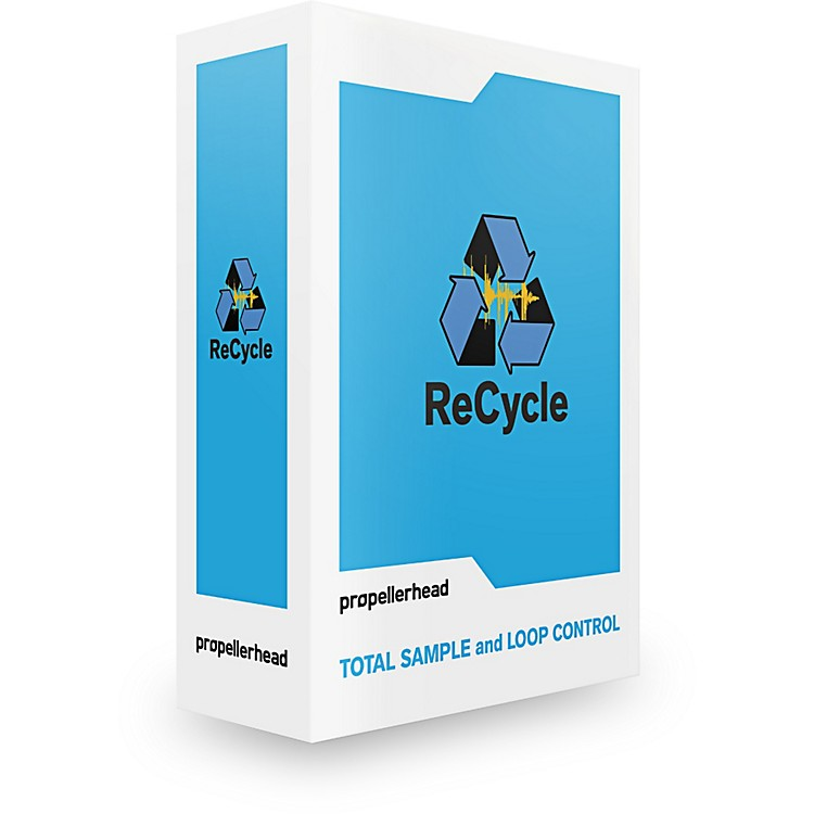 Propellerhead ReCycle 2.2 Audio and Loop Editing Software