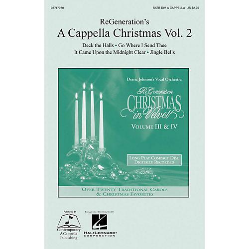 Hal Leonard ReGeneration's A Cappella Christmas Vol. 2 SATB DV A Cappella-thumbnail
