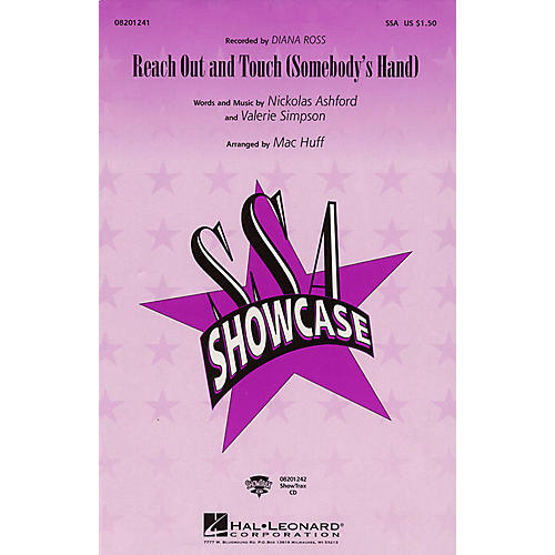 Hal Leonard Reach Out and Touch (Somebody's Hand) SSA by Diana Ross arranged by Mac Huff-thumbnail