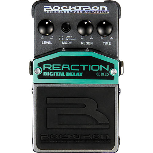 Rocktron Reaction Digital Delay Guitar Effects Pedal