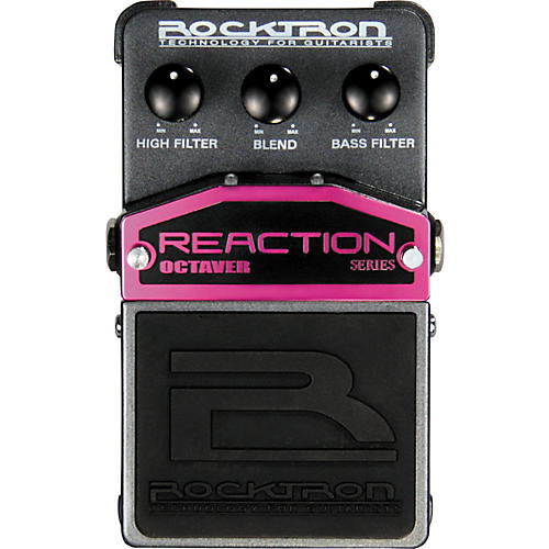 Rocktron Reaction Octaver Series Effects Pedal