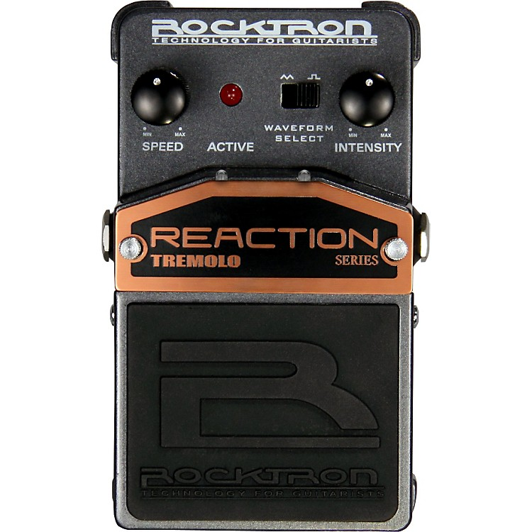 Rocktron Reaction Tremolo Guitar Effects Pedal