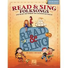 Hal Leonard Read & Sing Folksongs Teacher Book w/Enhanced CD Composed by Emily Crocker