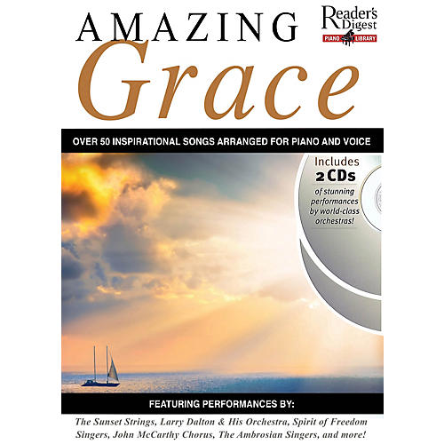 Music Sales Reader's Digest Piano Library: Amazing Grace Music Sales America Series Softcover with CD-thumbnail